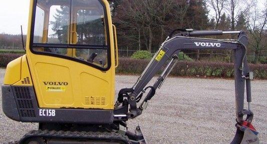 Volvo Ec15b Xtv Excavator Workshop Service Repair Manual