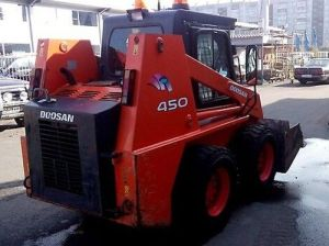 Daewoo Doosan 450 Plus Tier 3 Skid Steer Loader Service Parts Catalogue Manual