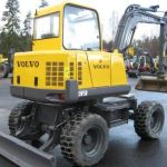 Volvo Ew50 Vv Compact Excavator Service Parts Catalogue Manual