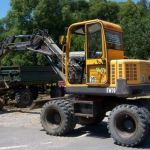 Volvo Ew70 Specification Excavator Service Parts Manual