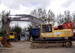Volvo Ec300 Akerman Excavator Service Parts Catalogue Manual