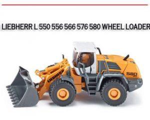 l 550 556 566 576 580 wheel loader workshop repair manual. Black Bedroom Furniture Sets. Home Design Ideas