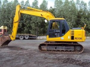 Komatsu Pc130-6k Excavator Workshop Service Manual