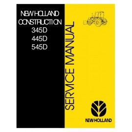 New Holland Ford 345d 445d 545d Operators Owners Manual Tractor