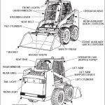 Bobcat 853 853h Skid Steer Loader Workshop Service Manual