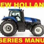 New Holland 8 Tractor T8.270 T8.300 T8.330 T8.360 T8.390 Service Repair Manual