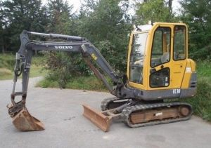 Volvo Ec30 Compact Excavator Workshop Service Parts Catalogue Manual