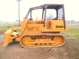 Case 850D, 855D Crawler Dozer Operators Owner Instruction Manual
