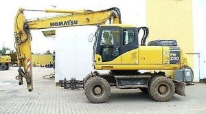 Komatsu Pw220-7h Wheeled Excavator Repair Service Pdf Manual