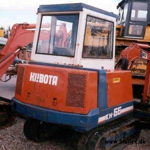 Kubota Kh-66 Excavator Workshop Repair Service Manual
