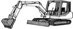 Bobcat 130 Hydraulic Excavator Workshop Service Pdf Manual