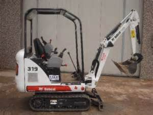 Bobcat 319 Compact Excavator Workshop Service Manual