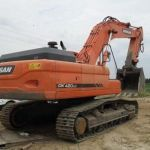 Daewoo Doosan Dx420lca (TCO) Crawler Excavator Service Catalogue Manual