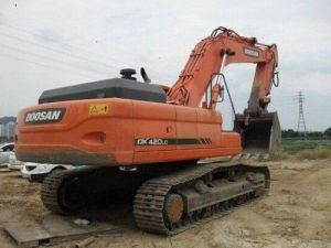 Daewoo Doosan Dx420lca Crawler Excavator Service Pdf Catalogue Manual