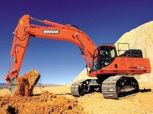 Daewoo Doosan Dx490lc-3 Excavator Service Catalogue Manual