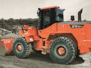 Daewoo Doosan Mega 250-Ⅲ Wheeled Loader Service Parts Manual