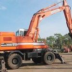 Daewoo Doosan Solar 200w-Ⅲ Wheeled Excavator Service Catalogue Manual