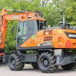 Daewoo Doosan Dx170w Wheeled Excavator Service Parts Manual