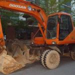 Daewoo Doosan Solar 130w-Ⅲ Wheeled Parts Manual