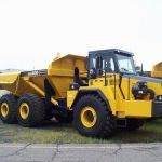 Komatsu Hm400-1 Articulated Dump Truck Operation & Maintenance