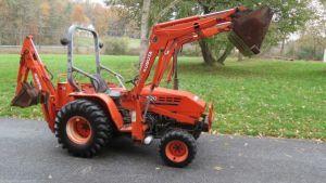 Kubota B20 TLB Tractor TL420 Loader BT650 BT750 Backhoe Service Repair Manual Download PDF