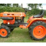 Kubota B4200D Tractor Illustrated Master Parts List Manual