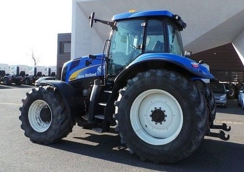 New Holland T8010 Master Tractor Service Repair Manual