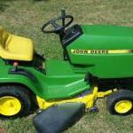 John Deere 130 160 165 175 180 185 Lawn Tractor Service Workshop Manual