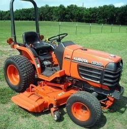 Kubota B7400HSD Tractor Illustrated Master Parts List Manual