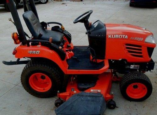 Kubota BX2350D, RCK48-23BX-EU, RCK54-23BX-EU, RCK60B-23BX-EU, LA243 Tractor, Rotary Mower, Front Loader Reapair Manual