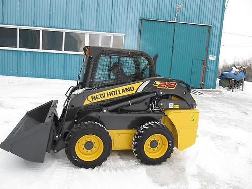 New Holland L218 Skid Steer Loader Service Repair Manual