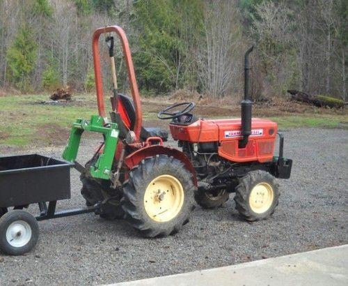 Yanmar YM169, YM169D Tractor Parts Manual
