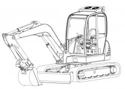 Jcb Excavators 8056 Factory Service Shop Manual