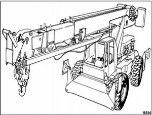 Komatsu 150A 150FA Hydraulic Crane Service Repair