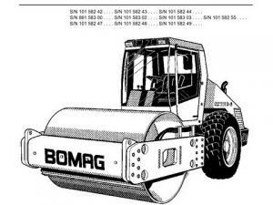 Bomag BW 211 212 213 PD-40 Service Repair Manual