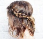 braids short and medium hair