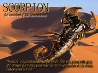 Horoscope du jour Scorpion