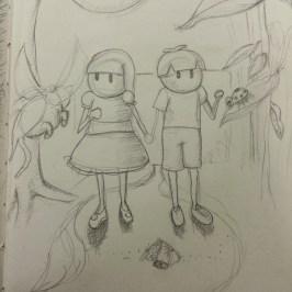Original into the Otherworld Sketch
