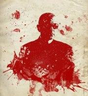 Raymond Johansen drawn in blood. well, okay, red ink. Via Raymond Johansen on Facebook
