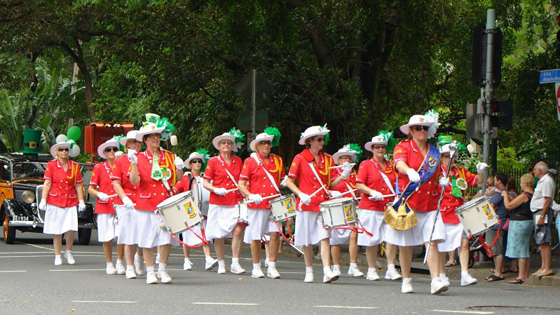 saint patrick's day parade brisbane 2011 Saint Patrick's Day Parade Brisbane 2011 2011 03 12T11 09 42