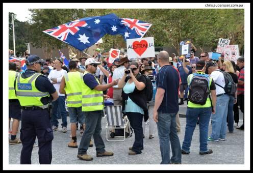 DSC_3305_v1 reclaim australia Protest Against Reclaim Australia DSC 3305 v1
