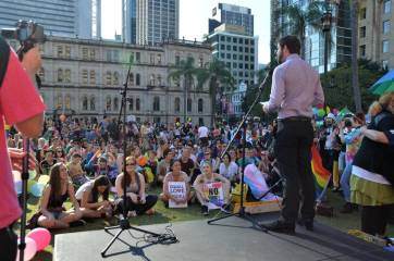 DSC_9820_v1 marriage equality in brisbane Rally for Marriage Equality in Brisbane DSC 9820 v1