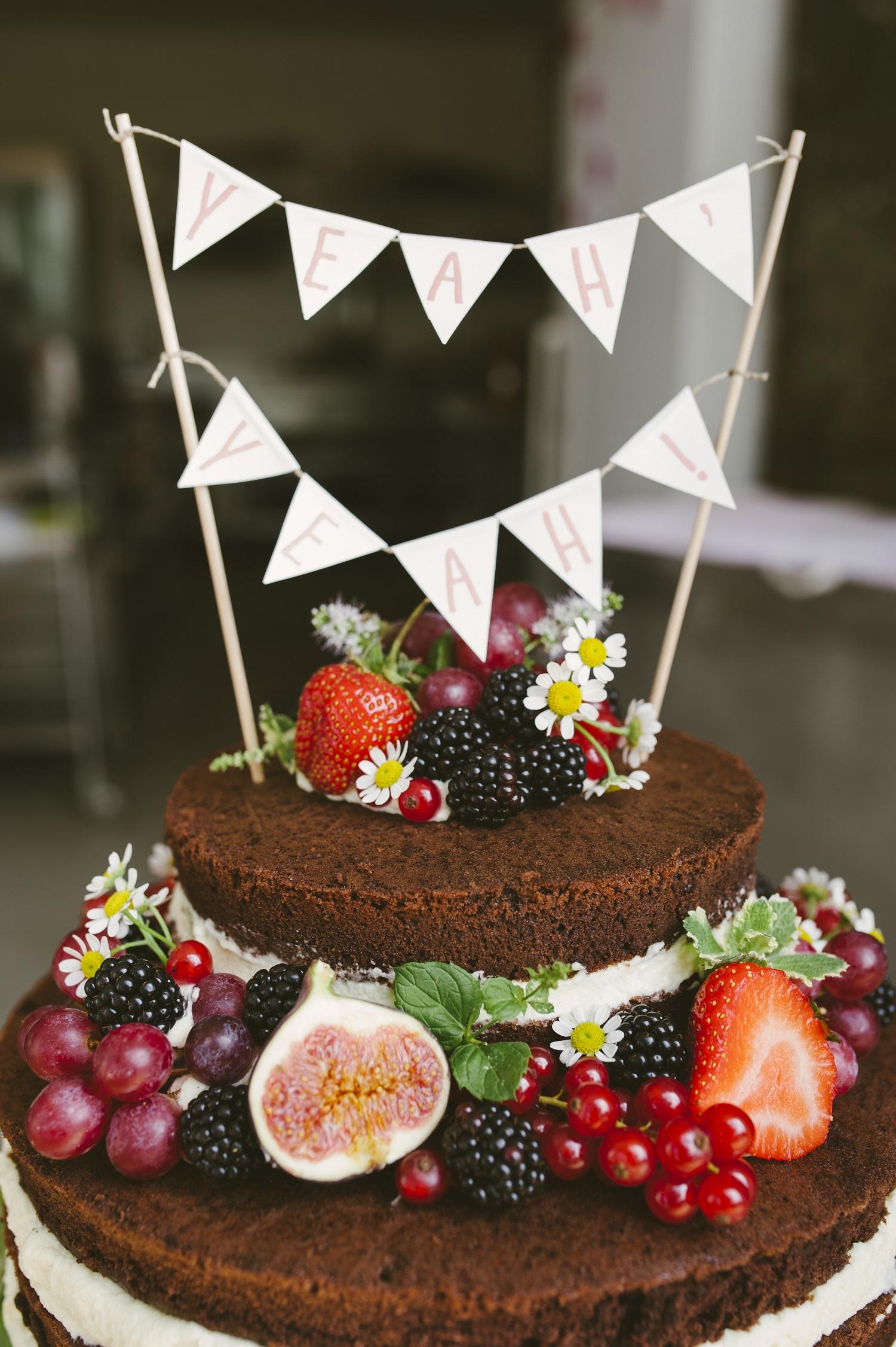 Wedding Cake ein bisschen Boho Chic ein bisschen Romantik  cathaskueche