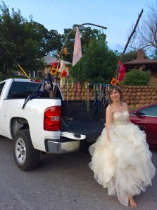 The bride and her truck! | Wichita Mountains Wildlife Refuge, OK