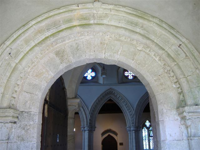 Stone Arch inside church