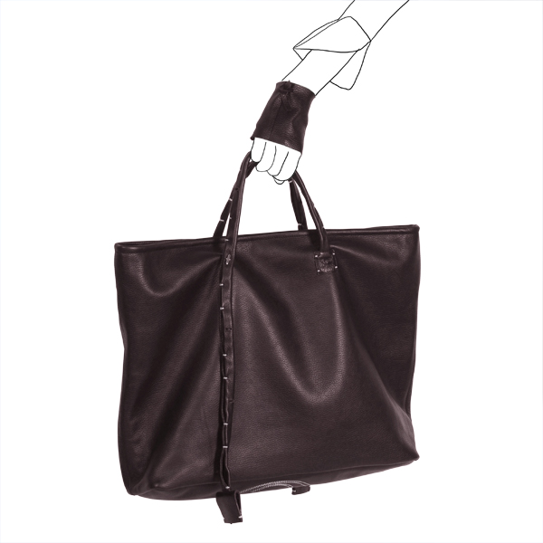 bag simpli-cube leather Catherine Loiret