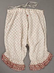 Pantalon de lingerie 1850