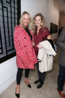 Ann-Sofie Bjerkander, Elenor Arongino== PERRIER X L'ATLAS Collaboration Launch== Catherine Ahnell Galleryyy, New York== October 28, 2015== ©Patrick McMullan== Photo-Jimi Celeste/PMC==