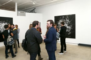 Atmosphere== PERRIER X L'ATLAS Collaboration Launch== Catherine Ahnell Gallery, New York== October 28, 2015== ©Patrick McMullan== Photo-JIMI CELESTE/PMC==