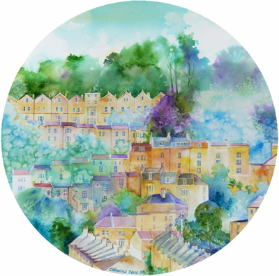 Bath Circle - giclee print available